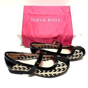 Taryn Rose True Woven Leather Mary Jane Size 8M